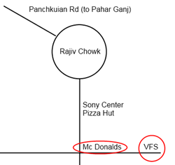 Map to VFS Office